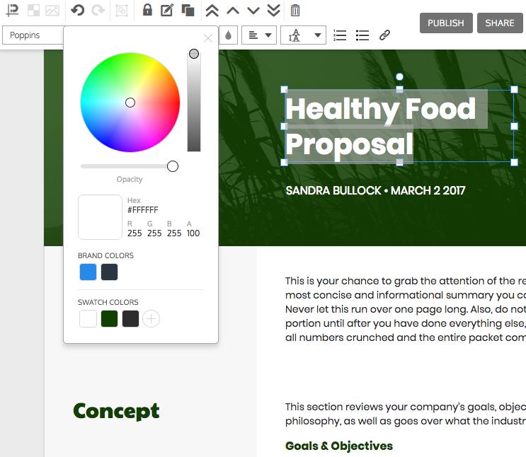online proposal maker make your own proposal venngage