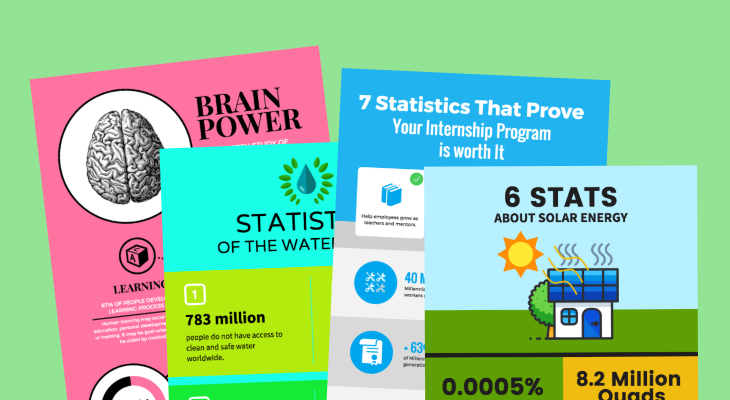 statistical infographic templates