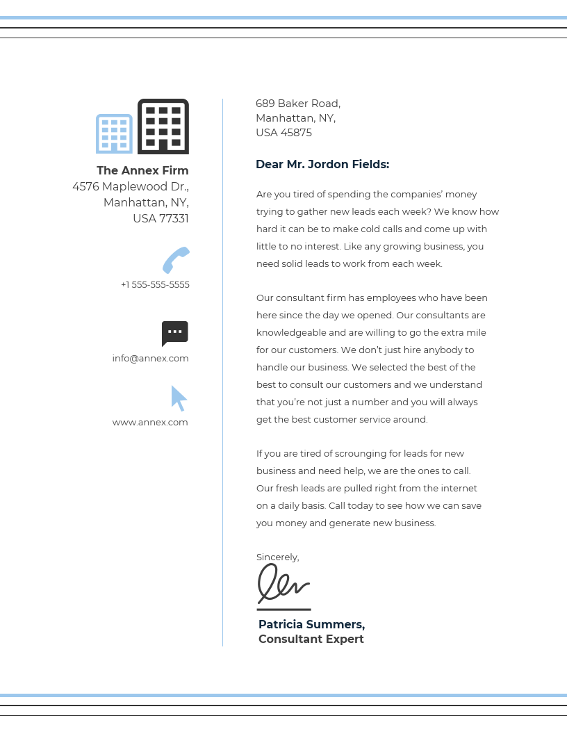 15+ Professional Business Letterhead Templates and Design Ideas ...