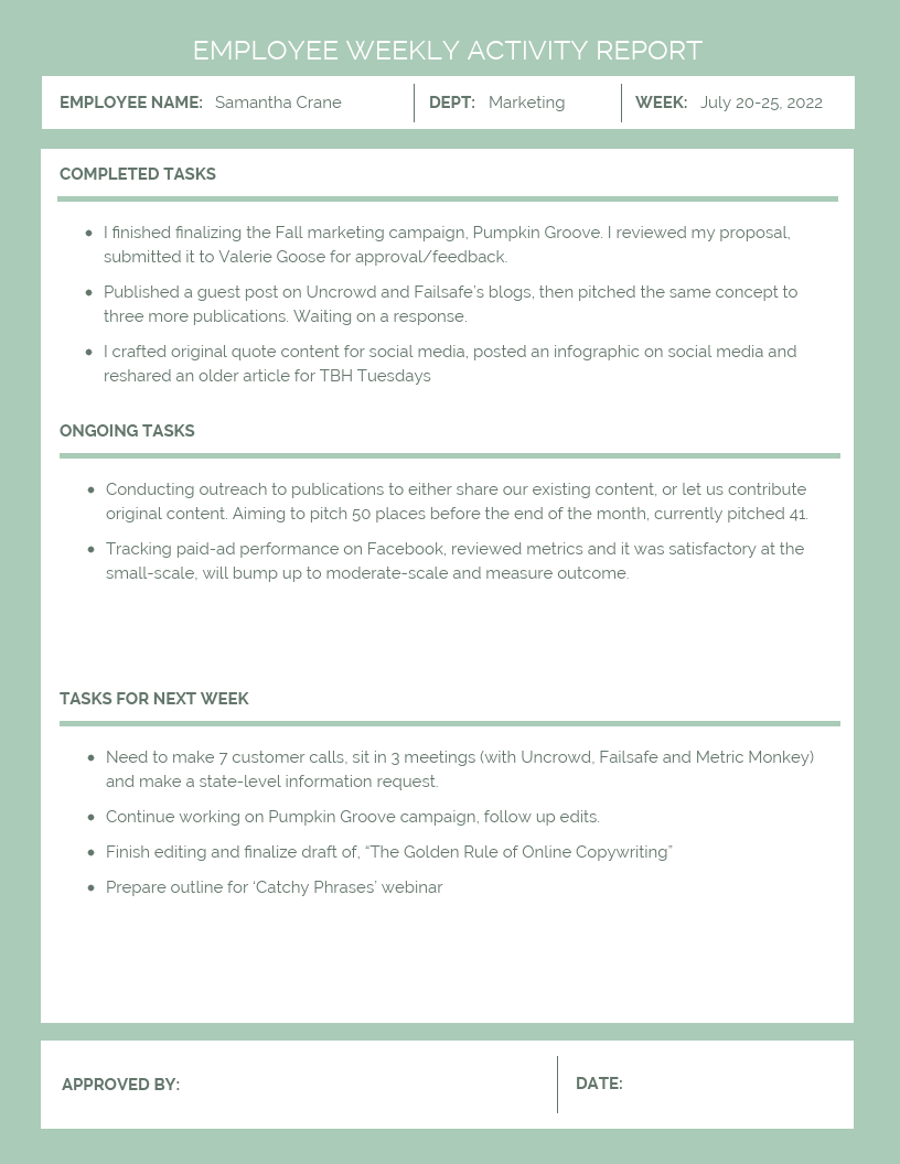 Business Report Template | 7 Business Report Templates You Need To Make Data Backed Decisions