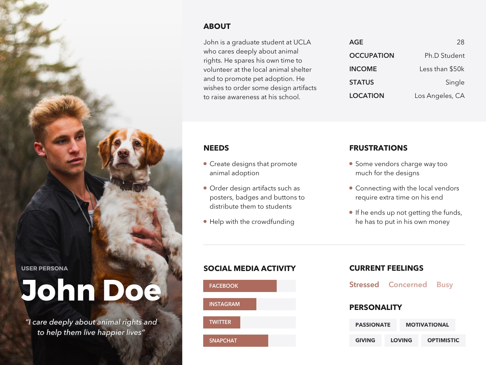 Persona Template | 20 User Persona Examples Templates And Tips For Targeted Decision