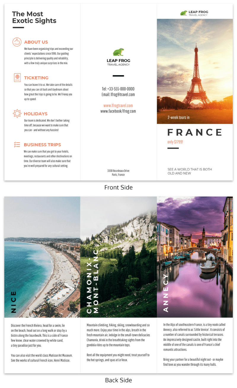 12 brochure templates and design tips to inform your audience and