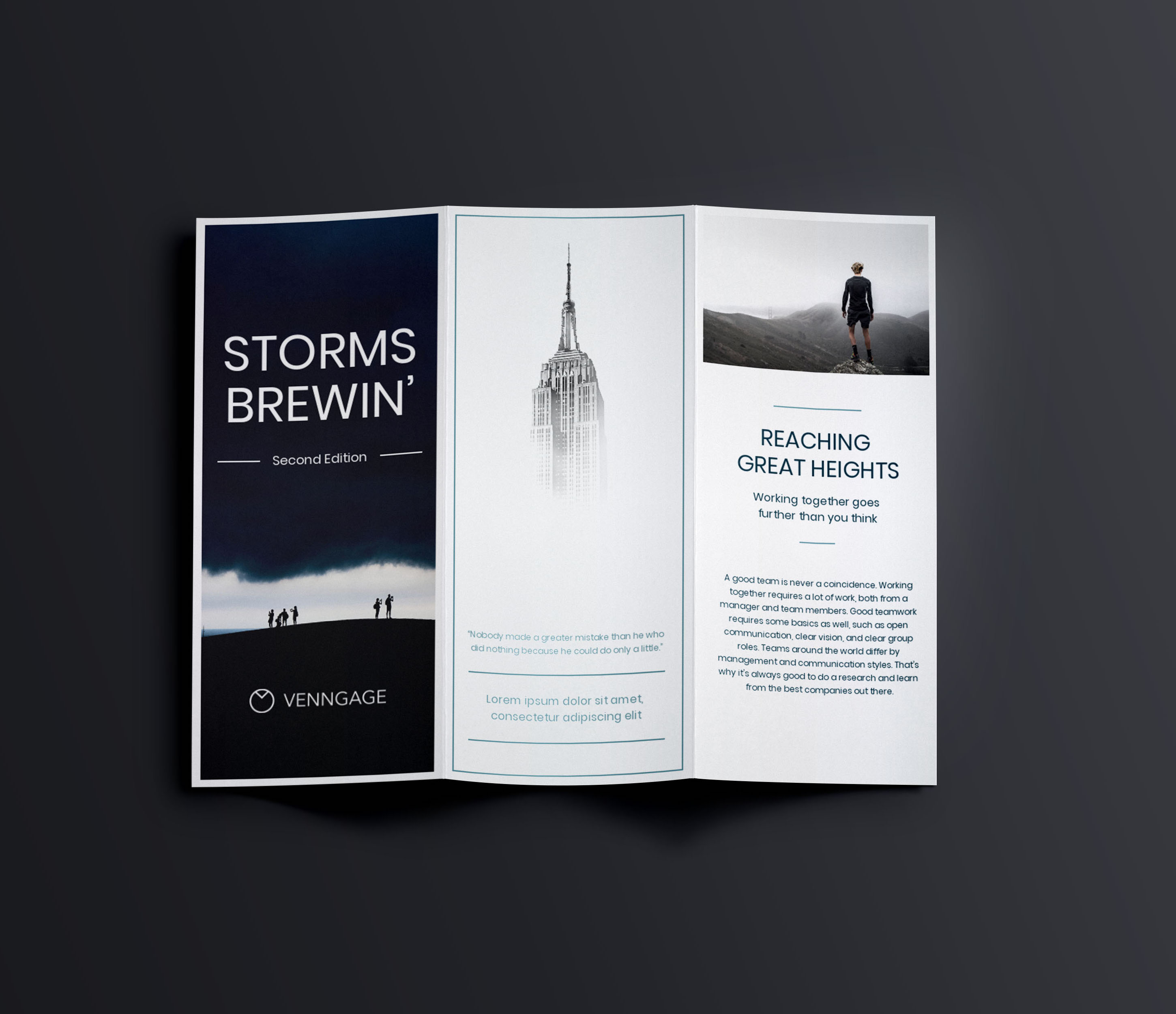 35 marketing brochure examples tips and templates venngage for Marketing brochures templates