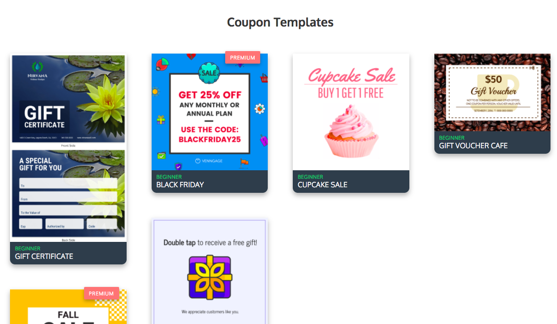 Online Coupon Maker - Make Your Own Coupon - Venngage