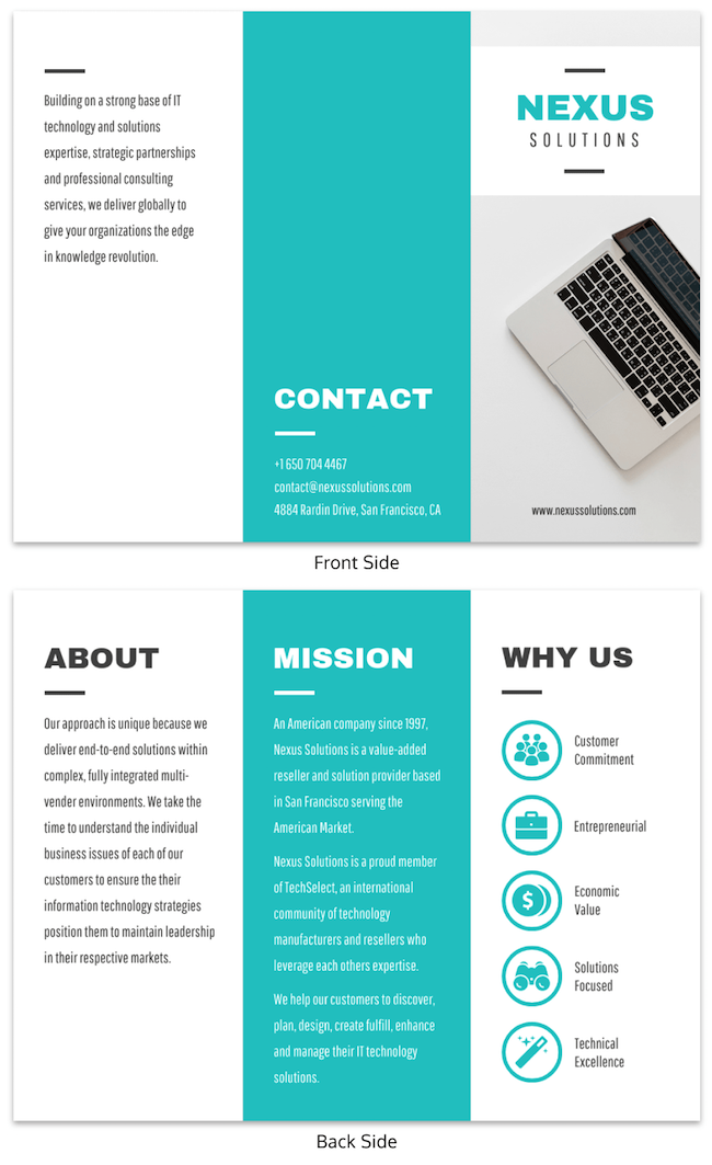 Marketing Brochure Examples Tips Templates10