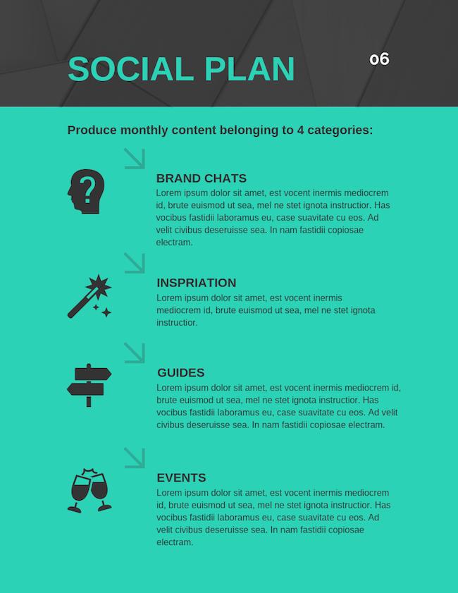 Social Media Plan 10