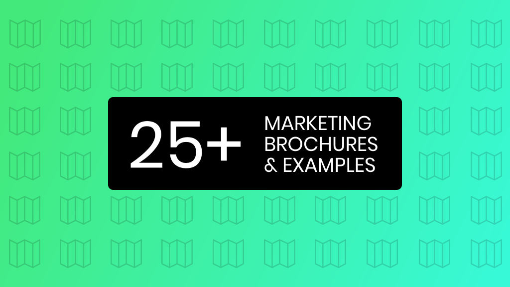 marketing brochure examples