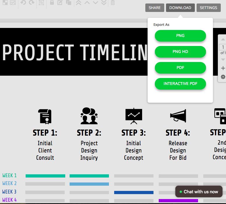 Online Roadmap Maker - Create a Roadmap Template - Venngage