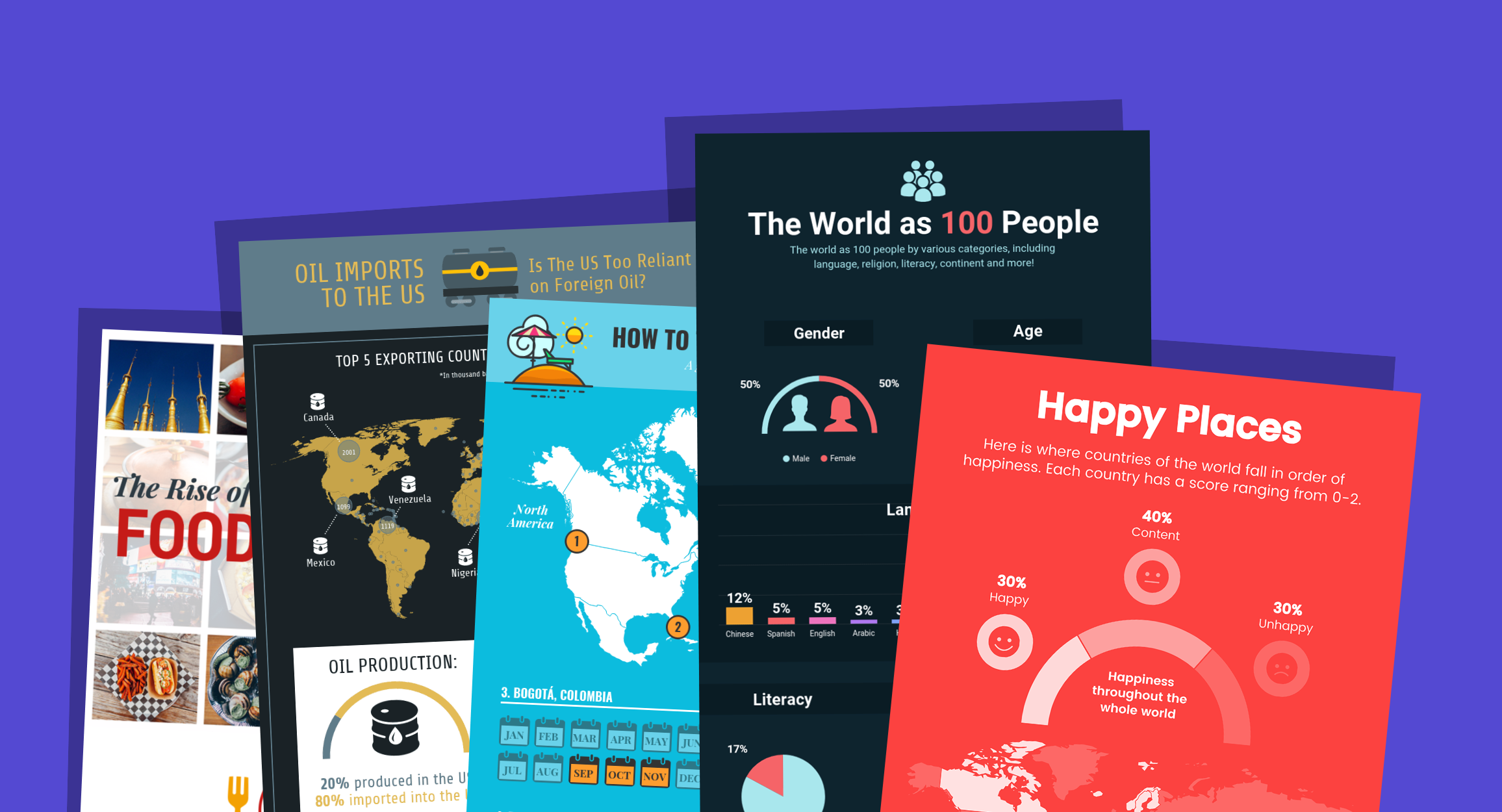 12 Geographic Infographic Templates And Design Tips