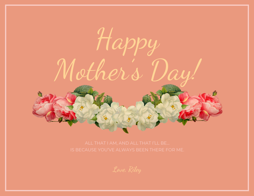 Mother's Day Card Template Word from venngage-wordpress.s3.amazonaws.com