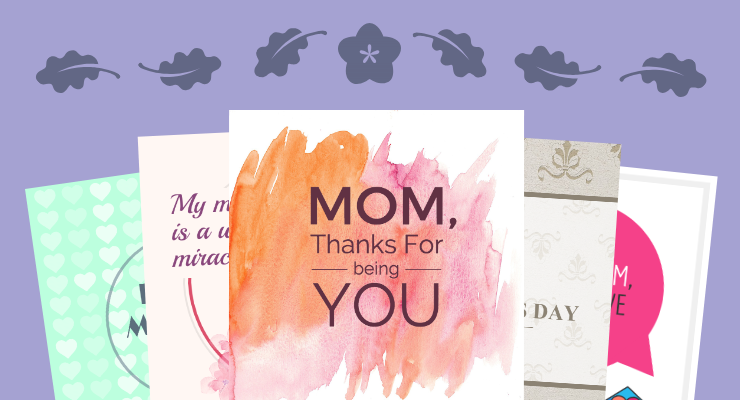10 creative mothers day card templates and design tips venngage mothers day card template maxwellsz