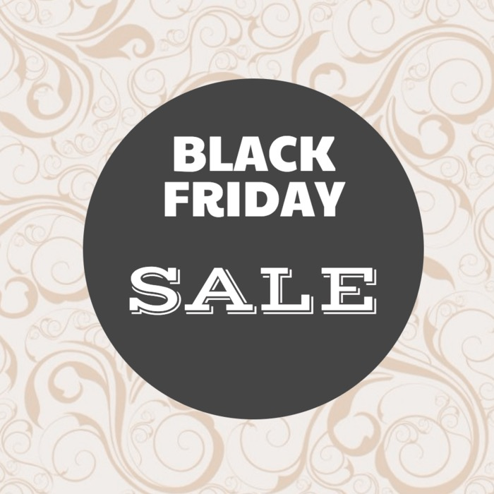 Black Friday Sale Event Poster Design
