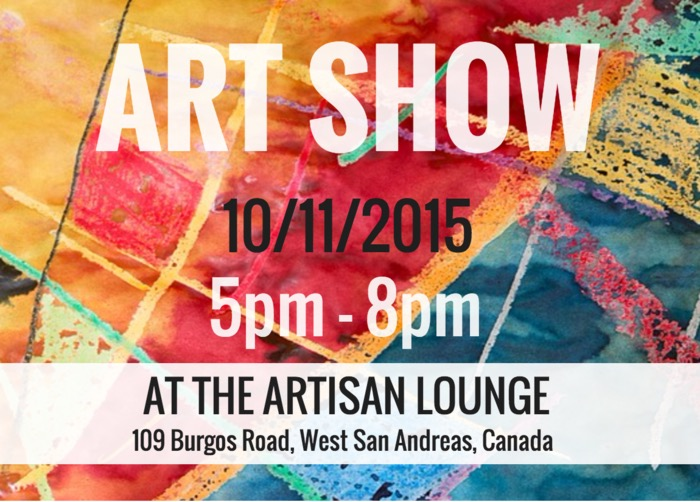 Creative Art Show Event Poster Design