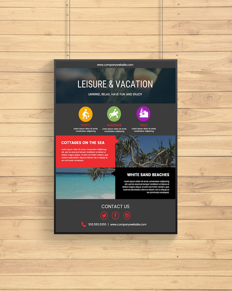 Creative Travel Business Flyer Example