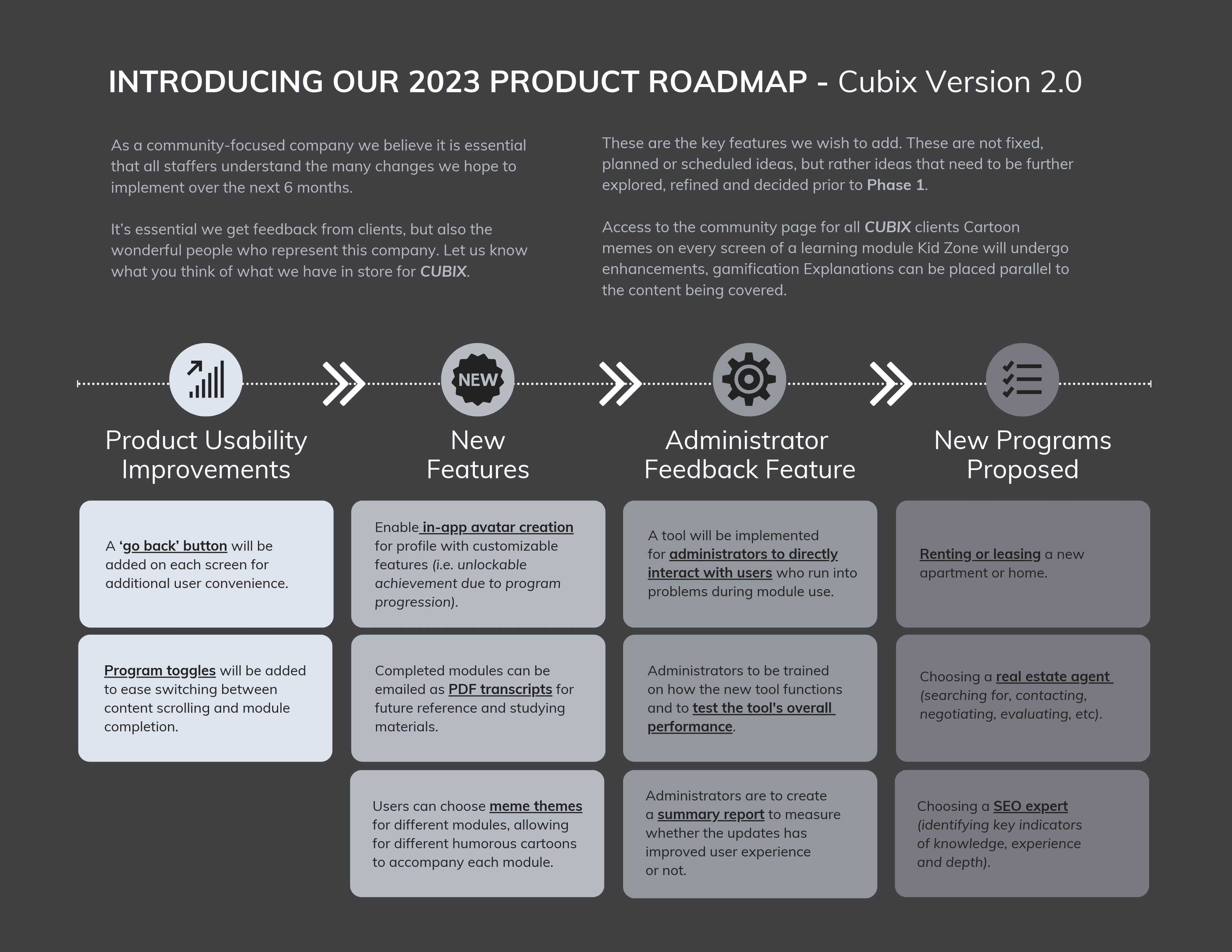 Grey Simple Product Roadmap Template1