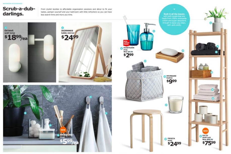 Ikea Marketing Product Flyer Example