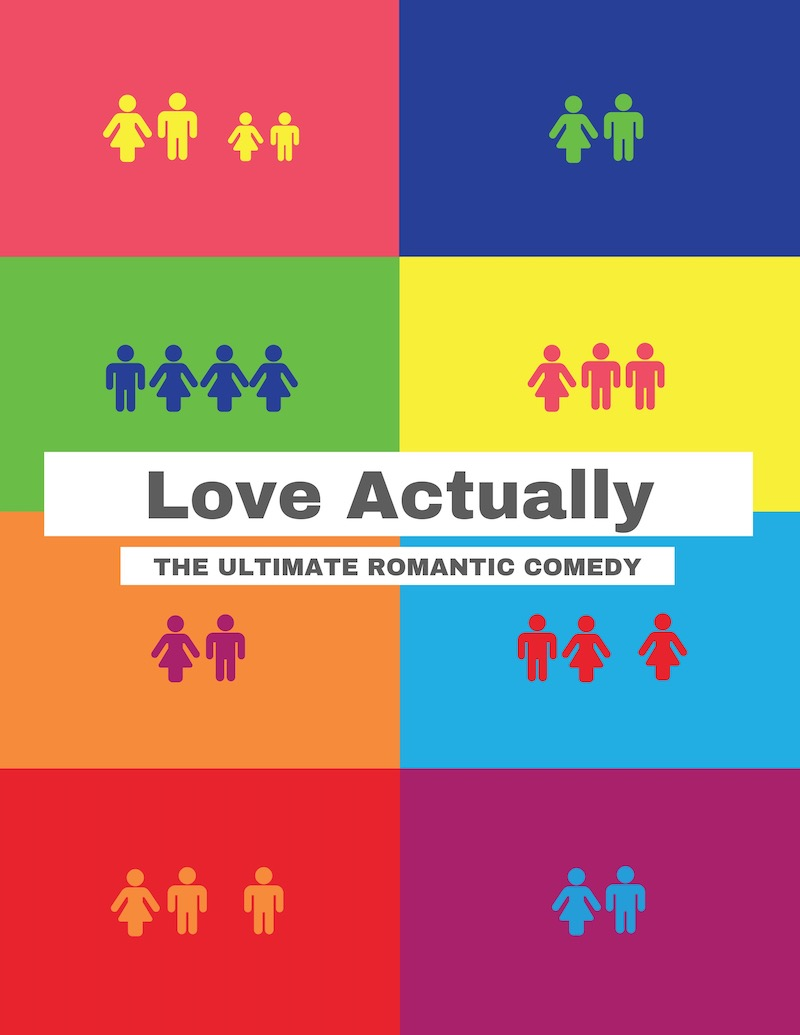 Love Actually Creative Movie Poster Design