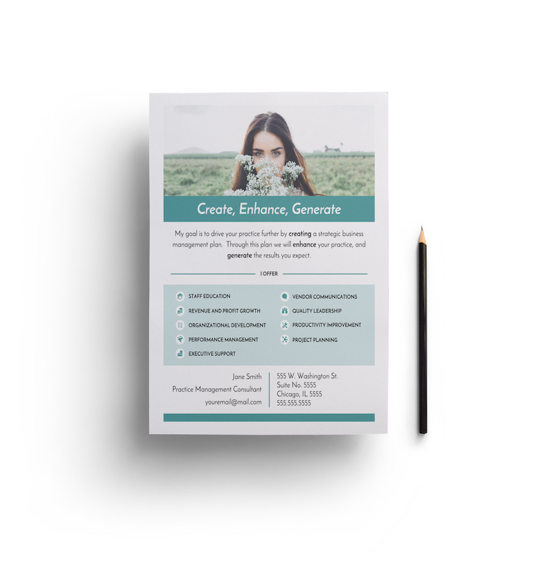 Minimalist Business Flyer Example