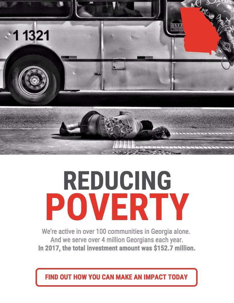 Minimalist Nonprofit Fundraising Poster Design