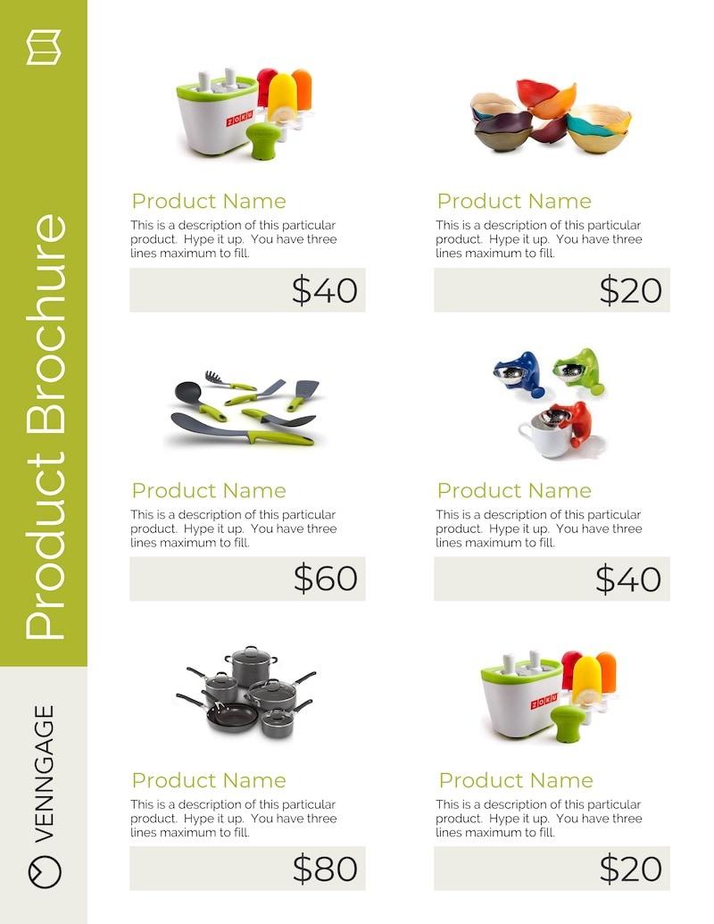Minimalist Product Marketing Flyer Example
