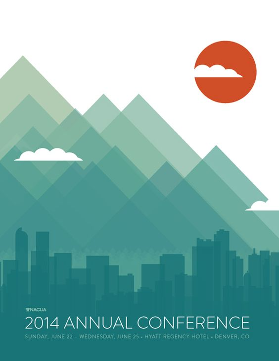Modern Business Conference Event Poster Design