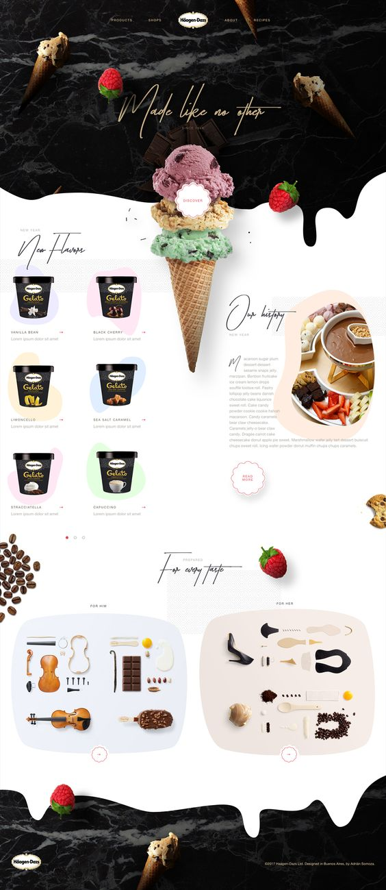 Modern Food Product Flyer Example