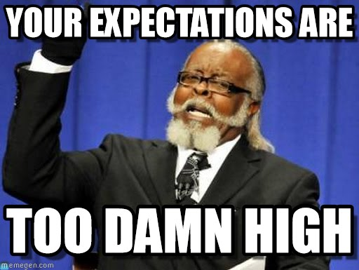 High Presentation Expectations