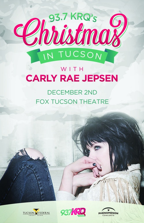carly rae flyer example