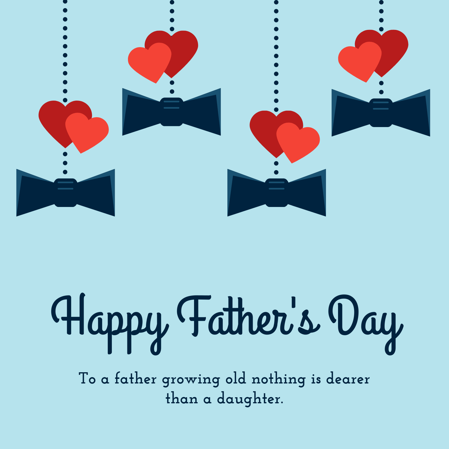 With Love DAD on FATHER/'S DAY card Quality Fathers Day With You in Mind Design