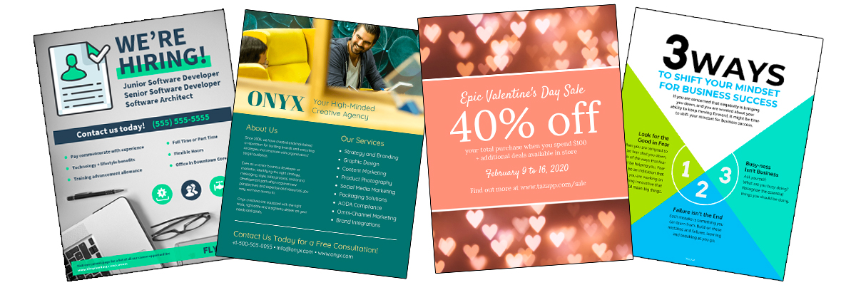 50 Captivating Flyer Examples Templates And Design Tips Venngage