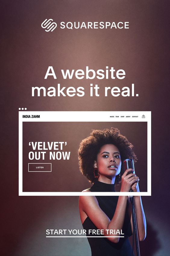 squarespace flyer example