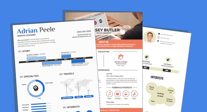 20+ Infographic Resume Templates and Design Tips to Help You Land That Job