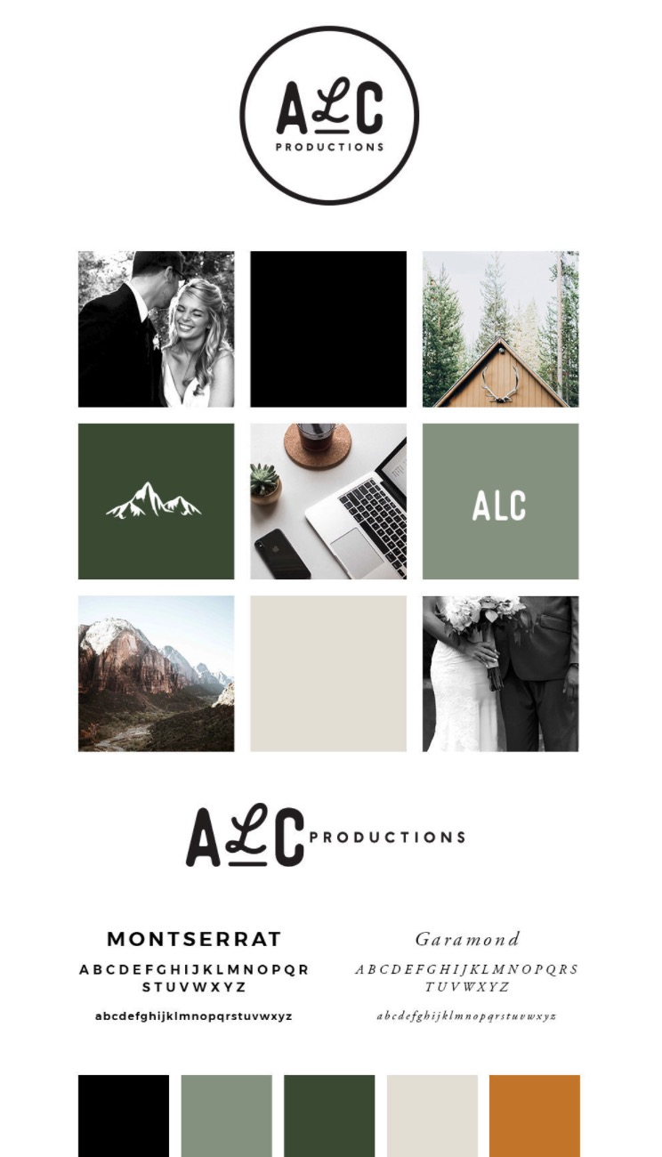 ALC Photography Brand Guidelines Templates