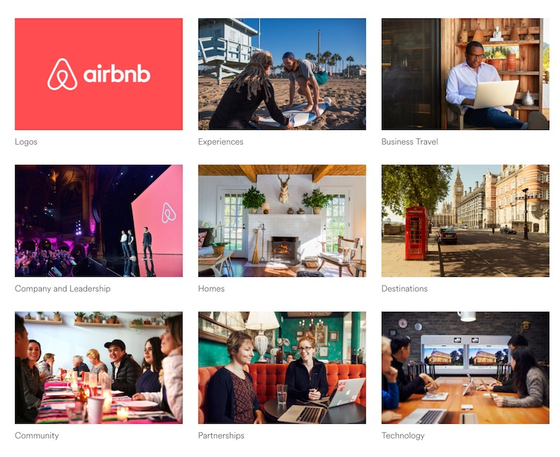 AirBnb Photography Brand Guidelines Templates