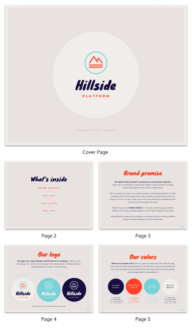 Brand Guidelines Templates 17