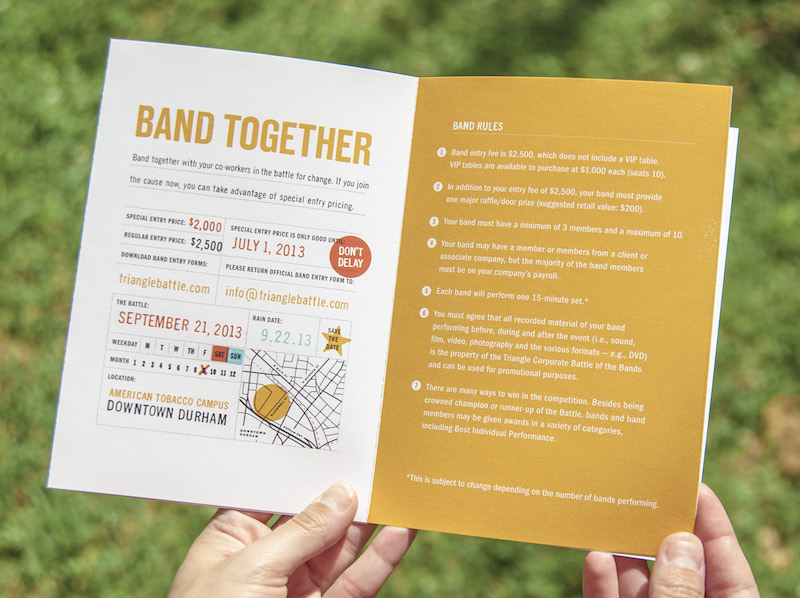 Creative Event Marketing Brochure Example