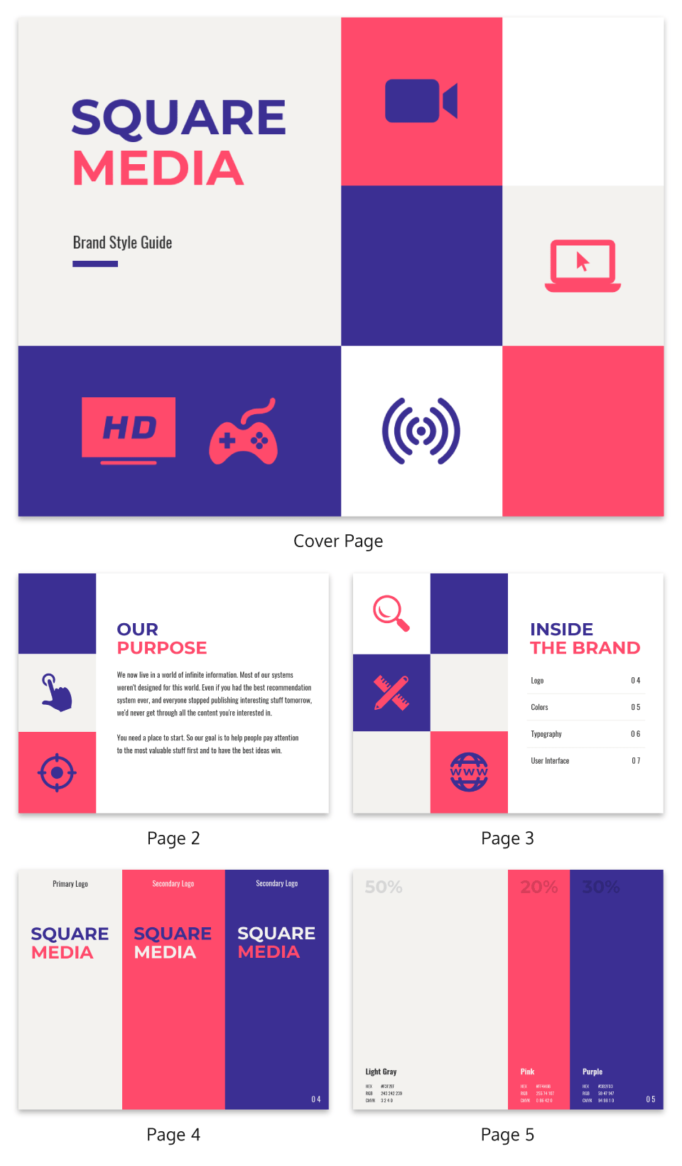 Creative Tech Brand Guidelines Template