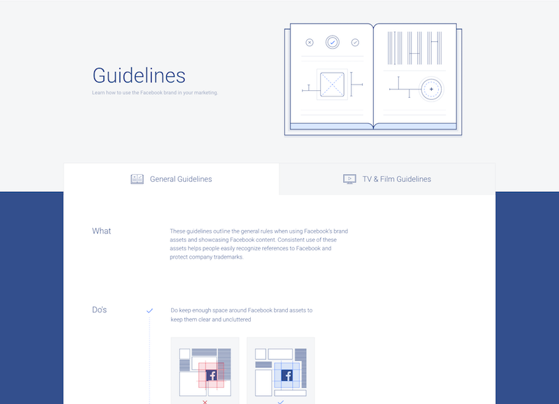 Facebook Brand Guidelines Templates