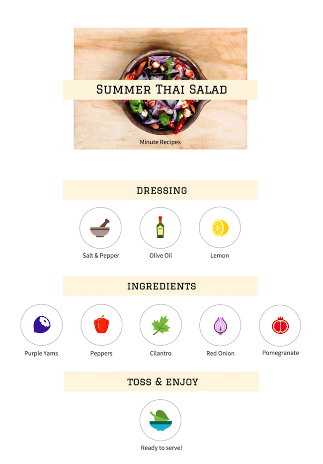 Food Infographics Examples, Templates & Tips14