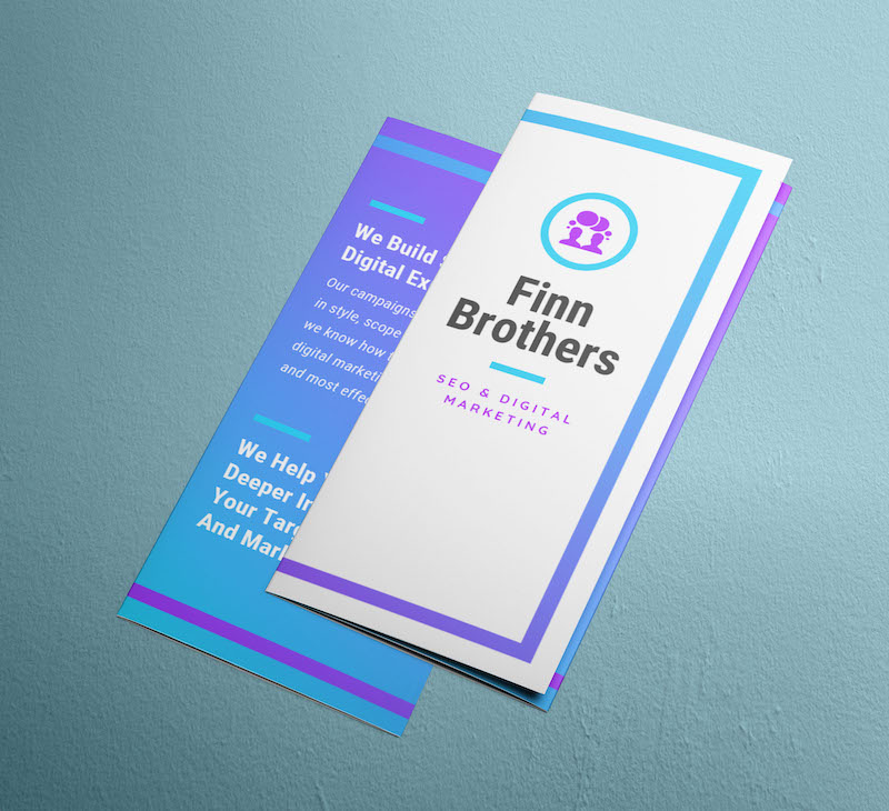Futuristic Business Marketing Brochure Template