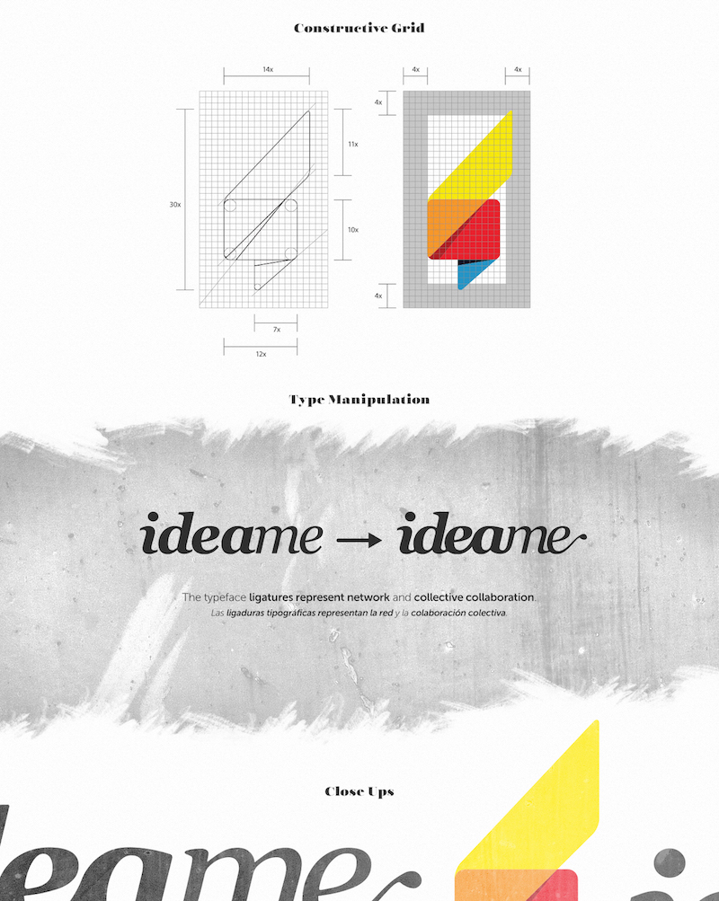 Ideame Logo Layout Brand Guidelines Templates