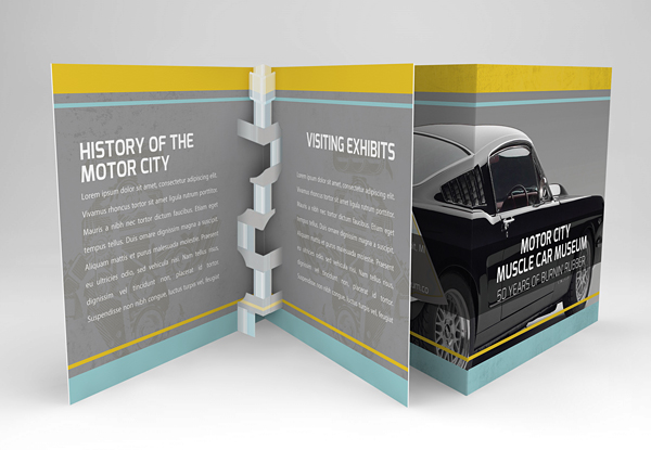 Innovative Business Marketing Brochure Example