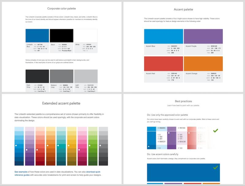 LinkedIn Brand Guidelines Template
