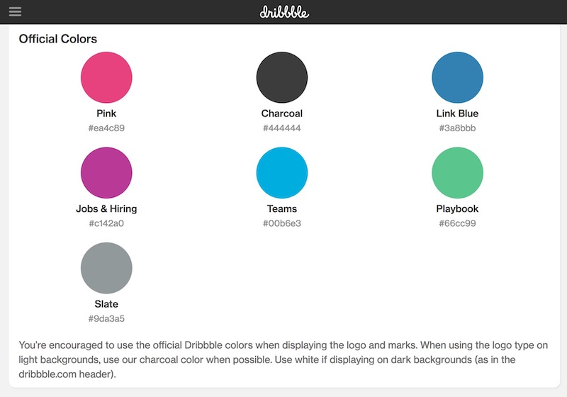 LinkedIn Color Palette Brand Guidelines Templates copy