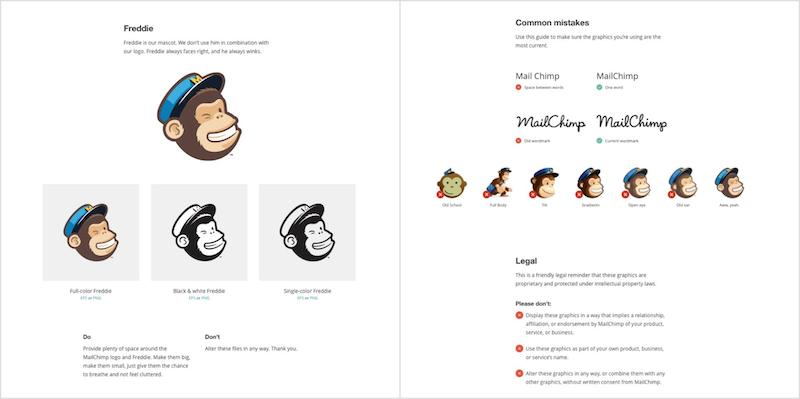 Mailchimp Logo Brand Guidelines Templates