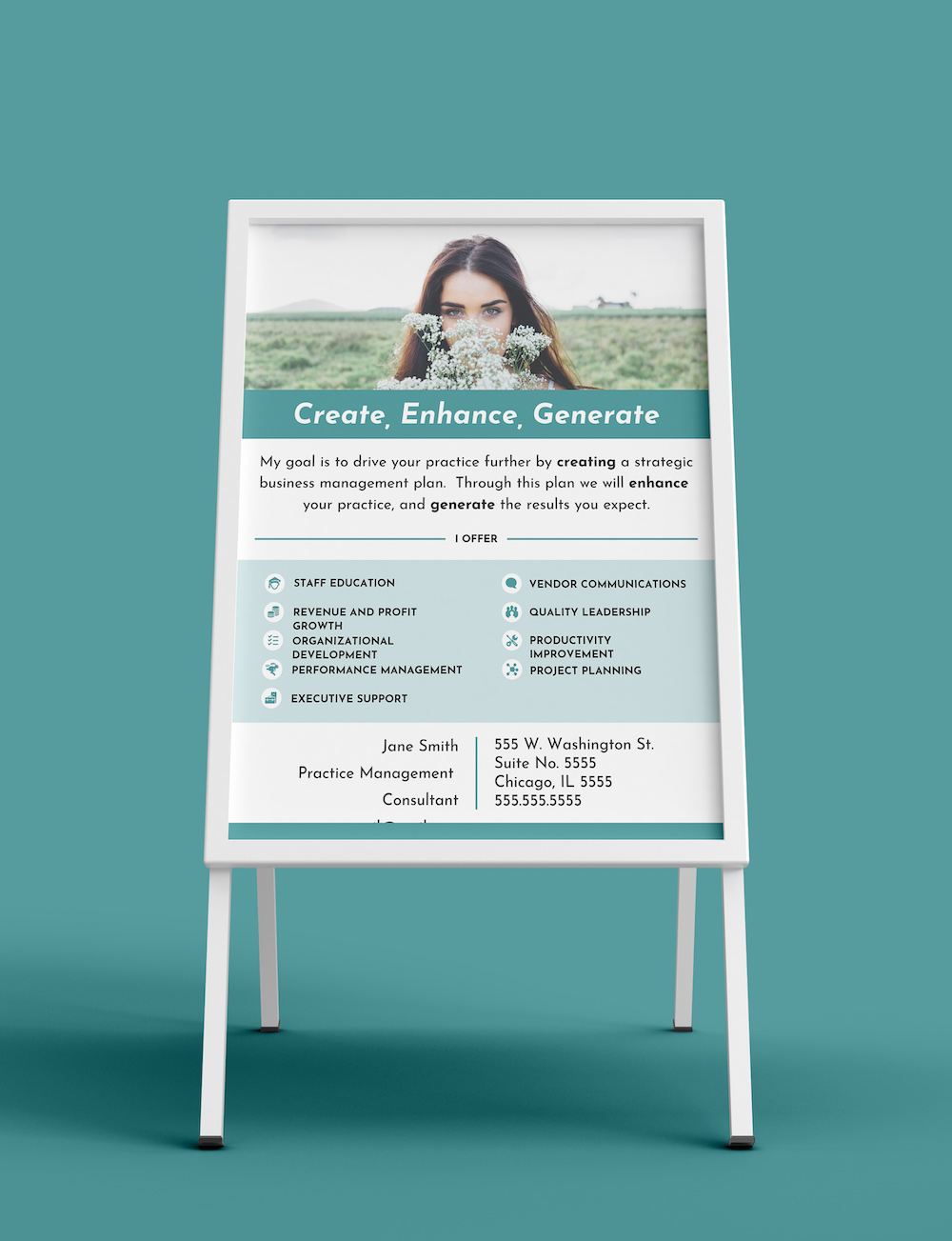Marketing Printable Product Flyer Template