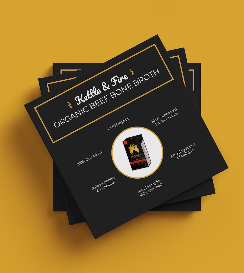 Minimalist Black Product Flyer Template1