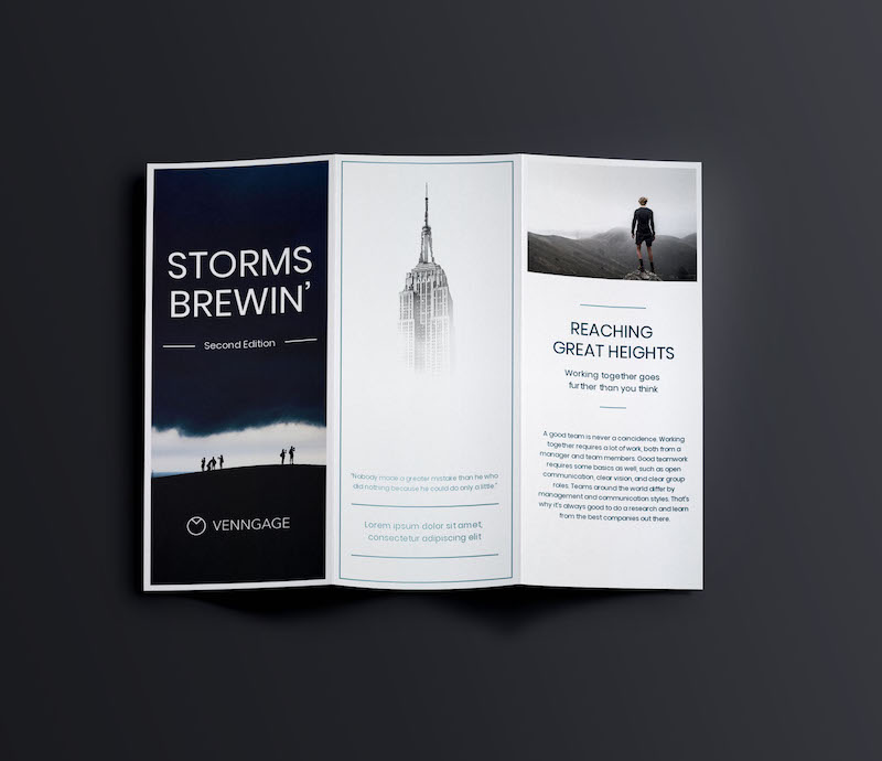 Minimalist Business Marketing Brochure Template