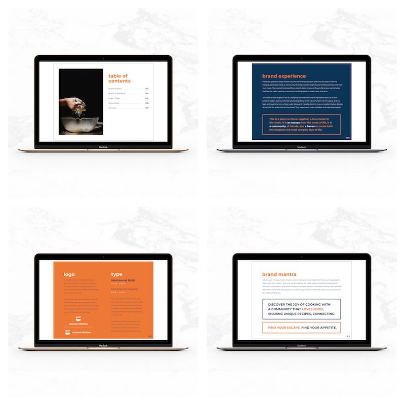 Modern Brand Style Guidelines Templates