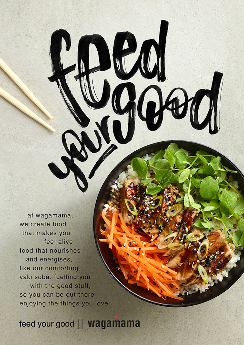 Modern Handwritten Restaurant Product Flyer Example